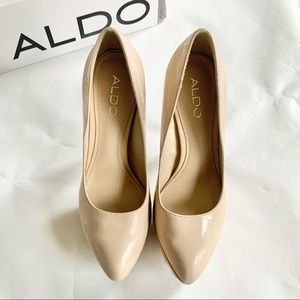 ALDO Dunny Synthetic Pumps in Nude 36